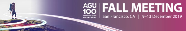 Keck Geology Presentations at AGU 2019