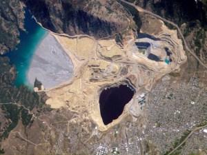 Berkeley Pit, Butte, Montana.
